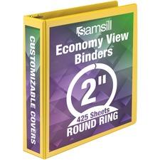 SAM18561 - Samsill Economy Round-Ring View Binder
