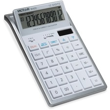 VCT 6400 Victor 12-Digit Check and Correct Desk Calculator VCT6400