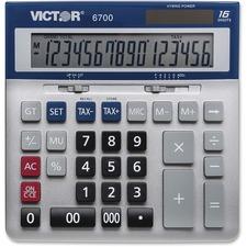 VCT 6700 Victor 16-Digit Desktop Calculator VCT6700