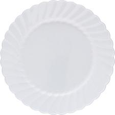 WNA RSCW91512W WNA Comet Classicware Hvywt Plastic White Plates WNARSCW91512W