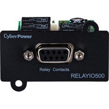 CyberPower RELAYIO500 Remote Power Management Adapter - Mini Slot - Serial