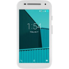 "FreedomPop Moto E 8 GB Smartphone - 4G - 4.5"" LCD 540 x 960 QHD Touchscreen - Qualcomm Snapdragon 410 Quad-core (4 Core) 1.20 GHz - 1 GB RAM - 5 Megapixel Rear/300 Kilopixel Front - Android 5.1 Lollipop - White - Refurbished"