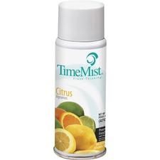 TimeMist Micro Metered Fragrance Dispenser Refill - 2 fl oz (0.1 quart) - Citrus - 1 Each - Long Las