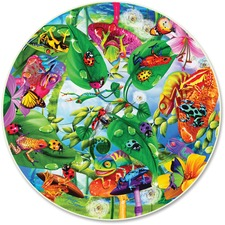 ABW 372 A Broader View Creepy Critters 500-pc Round Puzzle ABW372