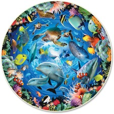 ABW 383 A Broader View Ocean View 500-piece Round Puzzle ABW383