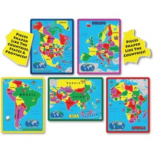 ABW 659 A Broader View Continent Puzzle Combo Pack ABW659
