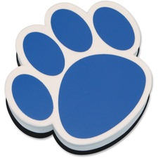 ASH 10002 Ashley Prod. Paw Shaped Magnetic Whiteboard Eraser ASH10002