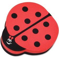 ASH 10015 Ashley Prod. Ladybug Magnetic Whiteboard Eraser ASH10015