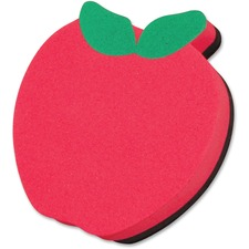 ASH 10020 Ashley Prod. Apple Design Magnetic Whitebrd Eraser ASH10020
