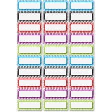 ASH 10077 Ashley Prod. Dry Erase Chevron Nameplate Magnets ASH10077