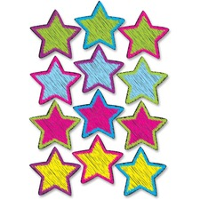 ASH 10086 Ashley Prod. Scribble Star Design Dry-erase Magnet ASH10086