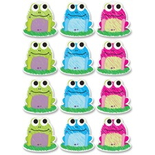 ASH 10087 Ashley Prod. Scribble Frog Design Dry-erase Magnet ASH10087