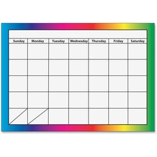 ASH10096 - Ashley 1-month Dry Erase Magnetic Calendar
