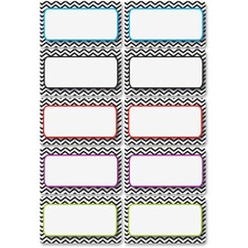 ASH 10132 Ashley Prod. Chevron Magnetic Die-cut Nameplates  ASH10132