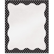 ASH 10409 Ashley Prod. Dots Design Border Library Pockets ASH10409