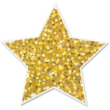 ASH 30400 Ashley Prod. Sparkle Decorative Magnetic Star ASH30400