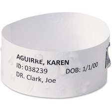 AVE74431 - Avery® EasyBand Medical Wristbands with Chart Labels