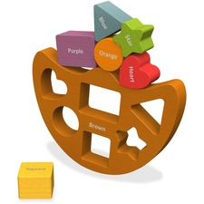 BGA B1402 BeginAgain Toys Shapes/Colors Balance Boat BGAB1402
