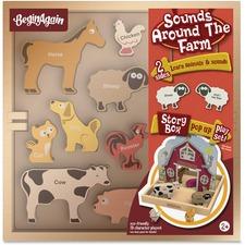 BGA H1501 BeginAgain Toys Sounds Around the Farm Story Box BGAH1501