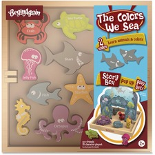 BGA H1502 BeginAgain Toys Colors We Sea Story Box BGAH1502