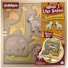 BGA H1503 BeginAgain Toys What I Like Safari Story Box BGAH1503