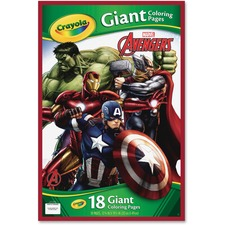 CYO 040196 Crayola Marvel Avengers Giant Coloring Pages CYO040196