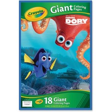 CYO 042006 Crayola Disney Finding Dory Giant Coloring Pages CYO042006