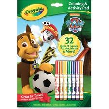 CYO 046918 Crayola Paw Patrol Coloring Activity Pad CYO046918
