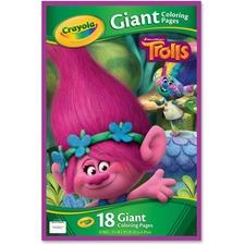 CYO 046922 Crayola Trolls Giant Coloring Pages CYO046922