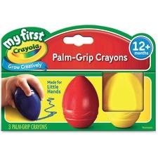 CYO 811345 Crayola My First Palm-Grip Crayons  CYO811345