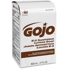 GOJ 913212CT GOJO E-2 Sanitizing Lotion Soap GOJ913212CT