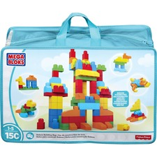 MBL CNM43 Mega Bloks Deluxe Building Blocks Bag MBLCNM43