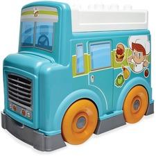 MBL DPJ55 Mega Bloks Food Truck Kitchen Preschool Play Set MBLDPJ55
