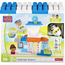 MBL DPJ56 Mega Bloks Skybright Airport Play Set MBLDPJ56