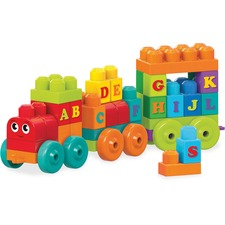 MBL DXH35 Mega Bloks ABC Learning Train Play Set MBLDXH35