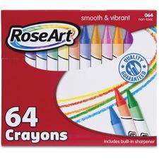 RAI CYR96 RoseArt Ind. 64 Crayons RAICYR96