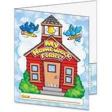 SHS 043950435X Scholastic Res. My Homework Folder SHS043950435X