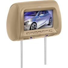 BOSS AUDIO HIR70UT 7 inch Widescreen Single Universal Headrest Monitor, Wireless Remote