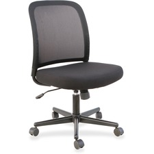 LLR 83304 Lorell Mesh Back Armless Task Chair LLR83304