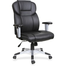 LLR 83308 Lorell High-back Leather Executive Chair LLR83308