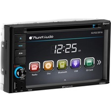 "Planet Audio P9628B Car DVD Player - 6.2"" Touchscreen LCD - Double DIN"