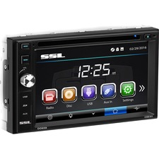 "SSL DD658 Car DVD Player - 6.2"" Touchscreen LCD - Double DIN"