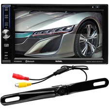 "SSL DD765BR Car DVD Player - 6.5"" Touchscreen LCD - Double DIN"