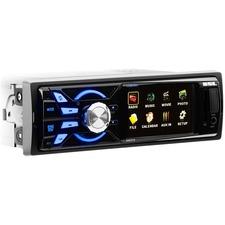 SSL SM316 Single-DIN 3.2 inch Screen MECH-LESS Multimedia Player (no CD or DVD), Receiver, Wireless Remote