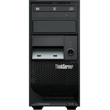 Lenovo ThinkServer TS150 70LV0037UX 4U Tower Server - 1 x Intel Xeon E3-1245 v5 Quad-core (4 Core) 3.50 GHz - 8 GB Installed DDR4 SDRAM - Serial ATA/600 Controller - 0, 1, 5, 10 RAID Levels - 1 x 250 W