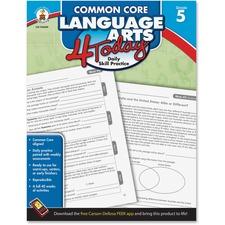CDP 104600 Carson Grade 5 Common Core Language Arts 4 Today CDP104600