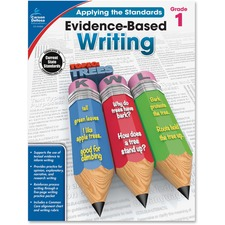 CDP 104824 Carson Grade 1 Evidence-Based Writing Workbook CDP104824