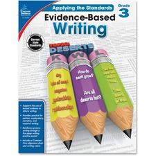 CDP 104826 Carson Grade 3 Evidence-Based Writing Workbook CDP104826