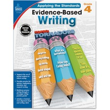 CDP 104827 Carson Grade 4 Evidence-Based Writing Workbook CDP104827