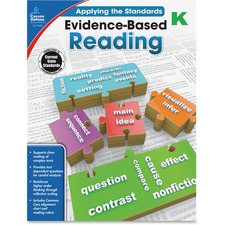 CDP 104829 Carson Grade K Evidence-Based Reading Workbook CDP104829